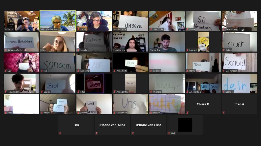 Konfi-Tage zu Corona-Zeiten: Wir sind auch bei den digitalen Formaten mit dabei!